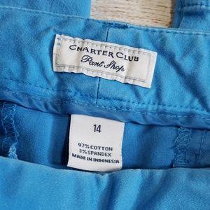 Charter Club Pants - 3️⃣/$🔟❗Charter club pant shop blue capris